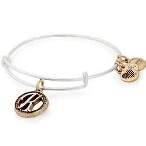 Alex and Ani initial K bracelet